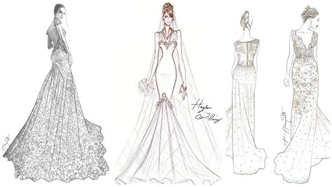 Design A Wedding Dress by How To Design A One Of A Wedding Dress