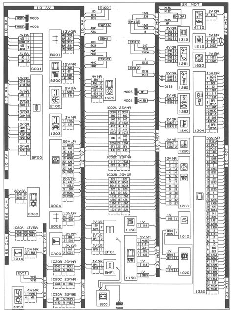 peugeot 406 air conditioning wiring diagram peugeot
