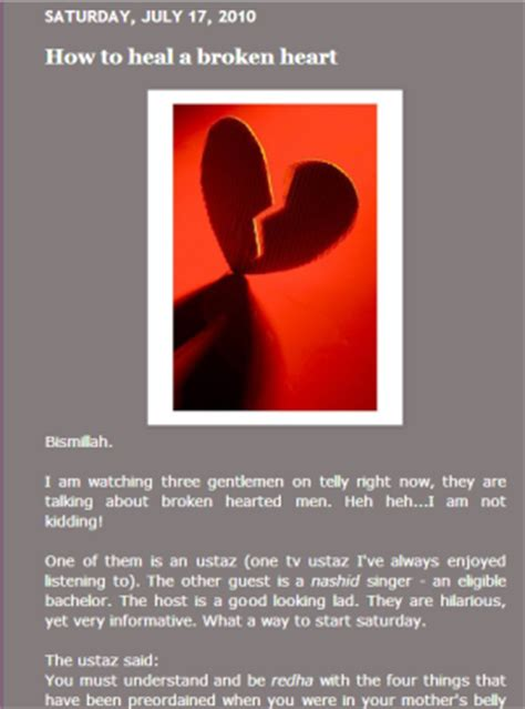 How To Heal Your Broken Part 1 The Wellness by Lisan Al Din Language Of Faith January 2013