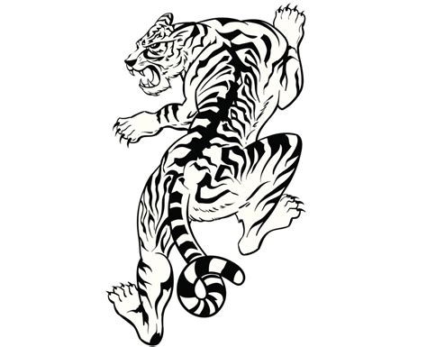 climbing tiger tattoo designs animal tattoos for