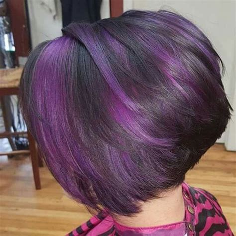 hairstyles purple highlights bold hair color ideas 2011 of 22 wonderful hair color