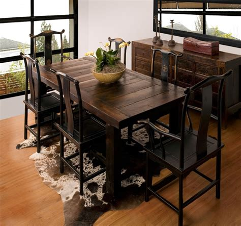 Rustic Kitchen Tables And Chairs Rustic Dining Room Furniture Sets Home Furniture Design
