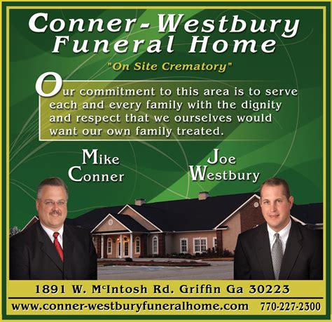 westbury funeral home griffin obituaries tribute for