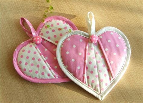 heart shaped potholder pattern pin by angela anderson on material girl pinterest