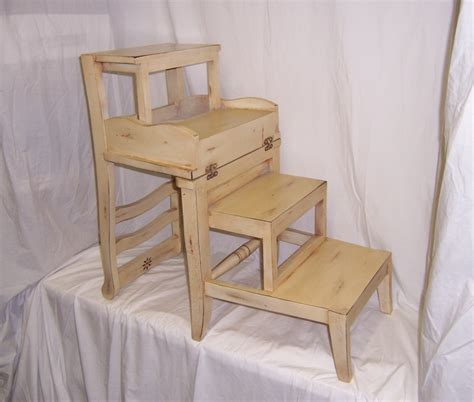 Library Chair Step Stool by Diy Plans Library Chair Step Ladder Pdf Linen