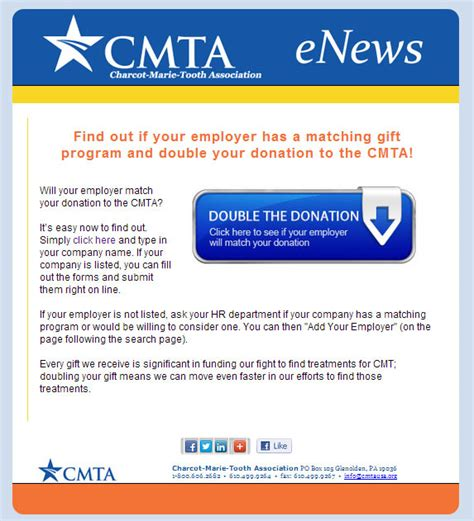 Donation Newsletter Feature Matching Gifts In Your Nonprofit S Newsletters The Donation