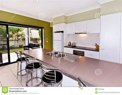 what is a galley style kitchen open galley style kitchen stock photo image of clean