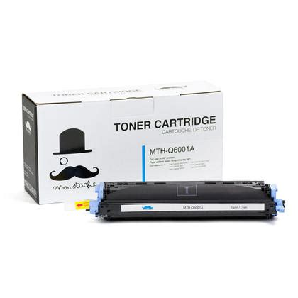 Toner Q6001a remanufactured hp 124a q6001a cyan toner cartridge