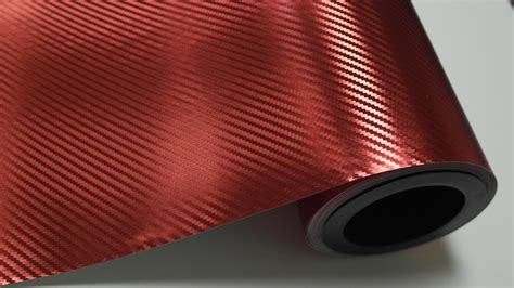 3m Folie Rot by Chrome Rot Carbon