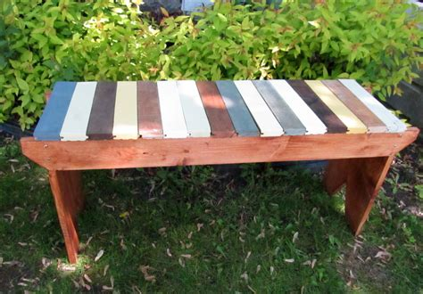 five board bench ana white 5 board bench with a twist diy projects