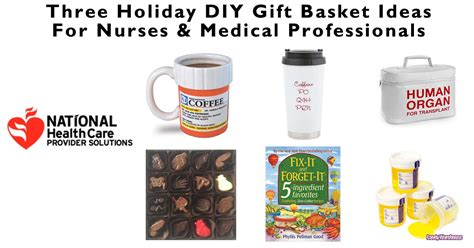 three holiday diy gift basket ideas for nurses medical