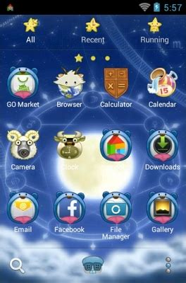 zodiac themes for android signs of the zodiac android theme for go launcher