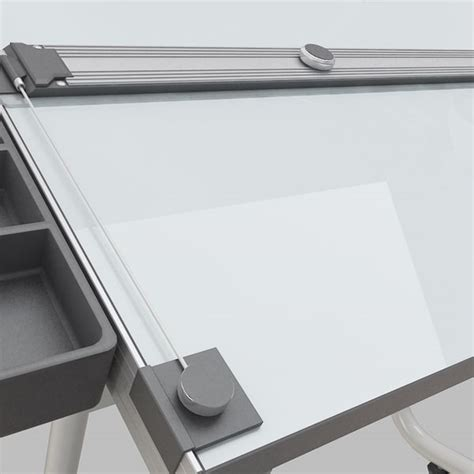 Drafting Table Ruler 3d Model Drawing Table
