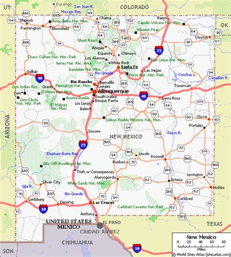 road map of nm new mexico pet friendly road map by 1click