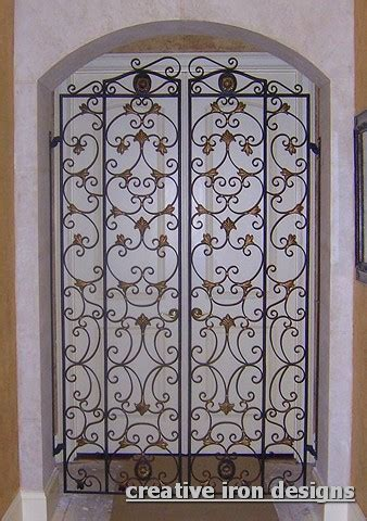 Interior Iron Gates by Image Gallery Indoor Metal Gates