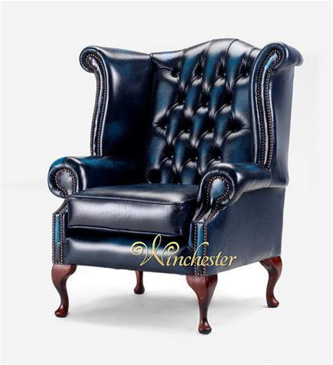 chesterfield queen anne high  wing chair uk manufactured leather sofas traditional sofas