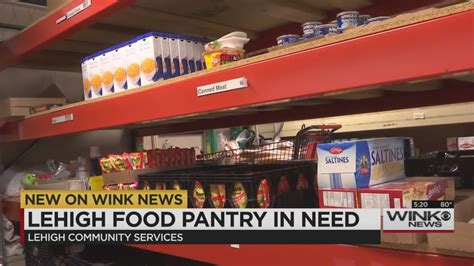 Desoto Food Pantry by Lehigh Acres Food Pantry In Need Of Donations Wink News