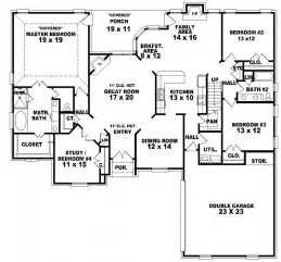 Two And A Half House Floor Plan 653966 One And A Half Story 3 Bedroom 2 Bath