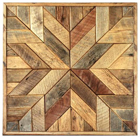 design art wood wood star wall art star quilt block rustic wall