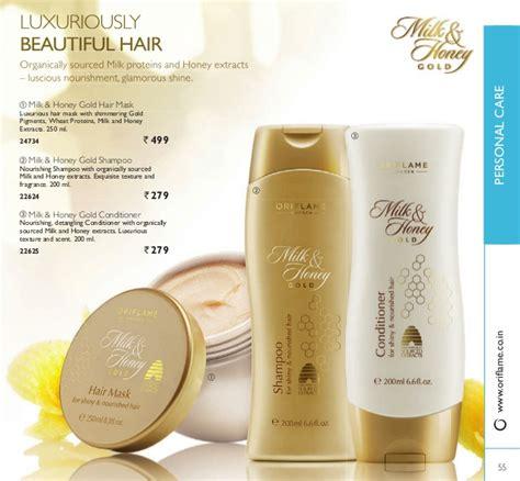 Milk Honey Gold Hair Mask Masker Rambut oriflame catalogue july 2015