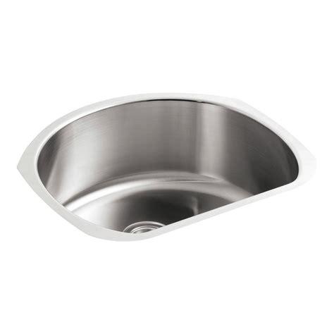 sterling stainless steel kitchen sinks sterling mcallister undermount stainless steel 24 in