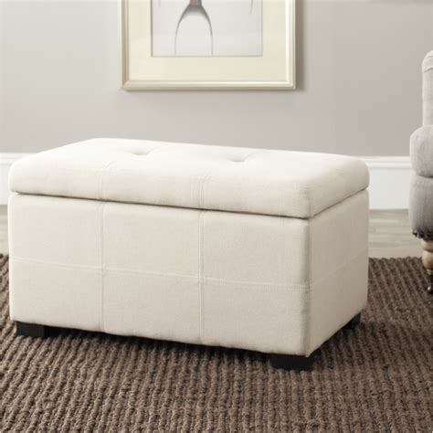 storage bedroom bench mercury row tufted beige linen storage bedroom bench