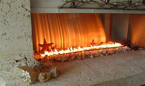 chicago residence fiamma ribbon burner stainless steel