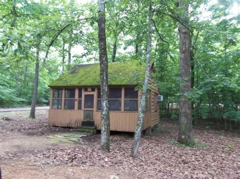 Tishomingo State Park Cabins by Rustic Cabins Front And Back Screened Porches