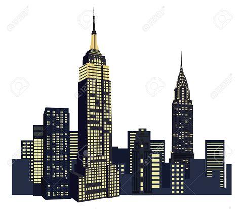 new york clip empire clipart manhattan pencil and in color empire