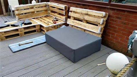diy pallet sofa instructions diy pallet upholstered sectional sofa tutorial 101
