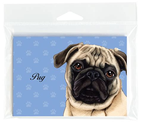 pug note cards pug note cards set of 8 with envelopes