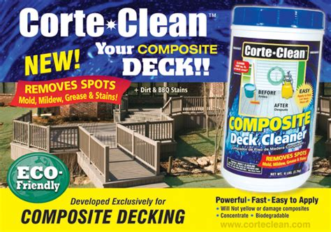 eco friendly composite deck cleaner droughtrelieforg