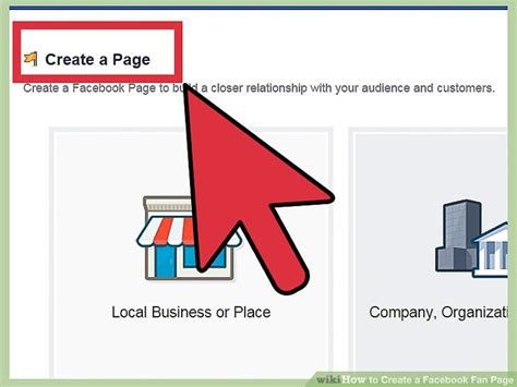 How To Create A Fan Page 9 Steps With Pictures