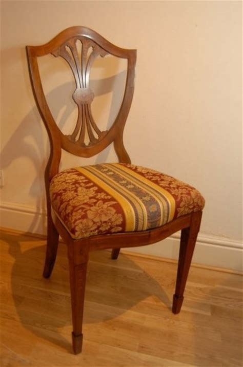 Set 10 English Painted Sheraton Dining Chairs For Sale Painted Dining Chairs For Sale