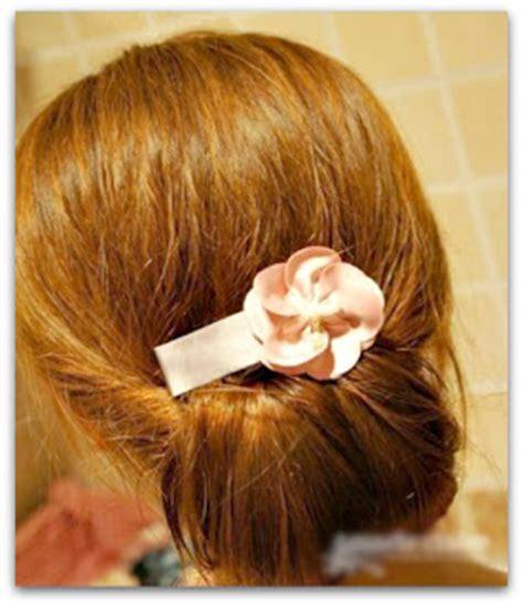 cepol dua gaya rambut pesta gaya rambut