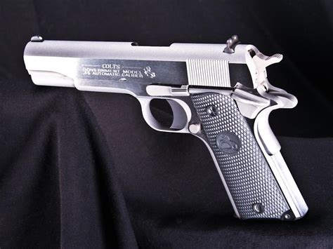 1991 colt government 45acp stainless colt government 1991 stainless 5 quot 45acp new o1091 ca o