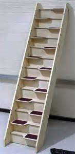 Alternate Stairs by Alternating Tread Staircases Birch 24 Space Saver