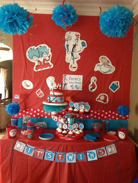 Thing 1 And Thing 2 Baby Shower by Thing 1 And Thing 2 Baby Shower