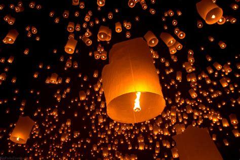 candele cinesi volanti lantern festival xcitefun net