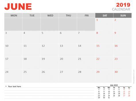 june  calendar  powerpoint presentationgocom