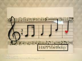 handmade by musical happy birthday