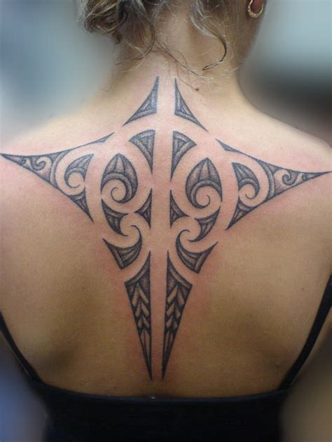 tribal back tattoo world tattoos maori and traditional