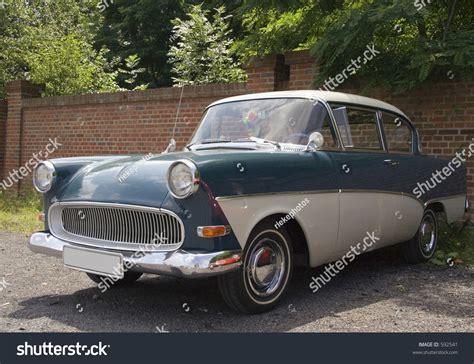 German Car Opel by Vintage Opel Olympia German Car Stock Photo 592541