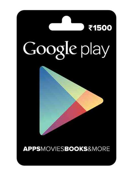 Google Play India Gift Card - google introduces google play gift cards in india