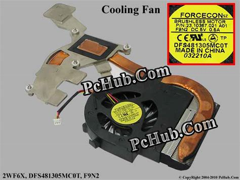 Fan Laptop Dell Inspiron N4030 dell inspiron 14 n4030 cooling fan 2wf6x dfs481305mc0t