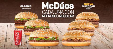 cuarto cheddar melt mcdonald s venezuela