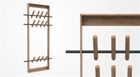 Wandgarderobe Design Holz by Garderobe Coat Frame We Do Wood I Holzdesignpur