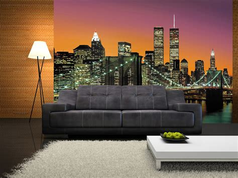 wall mural new york new york city wall mural buy at europosters