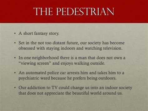 The Pedestrian Bradbury Essay Plan by College Essays College Application Essays The Pedestrian Essay