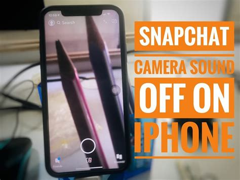 snapchat sound on iphone xs max xs iphone xr x 8 8 plus 7 disable shutter sound